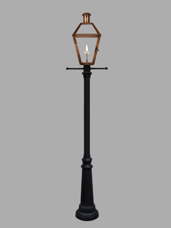 Lamp Post & Post Ladder Rest