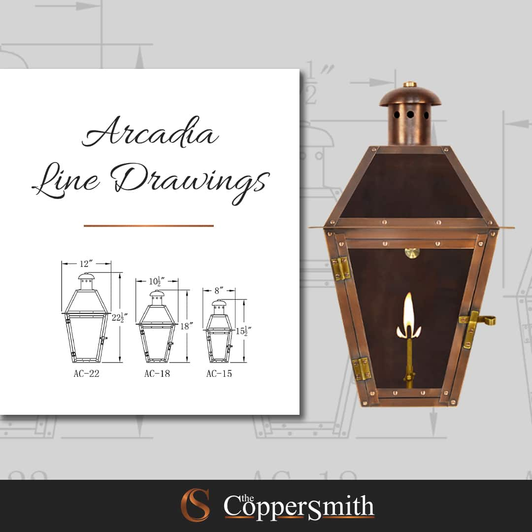 Arcadia Line Drawings