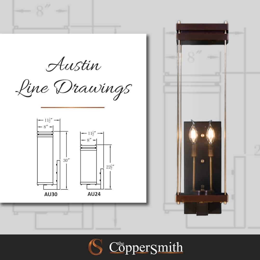 Austin Line Drawings