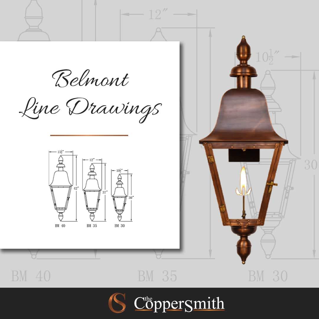 Belmont Line Drawings