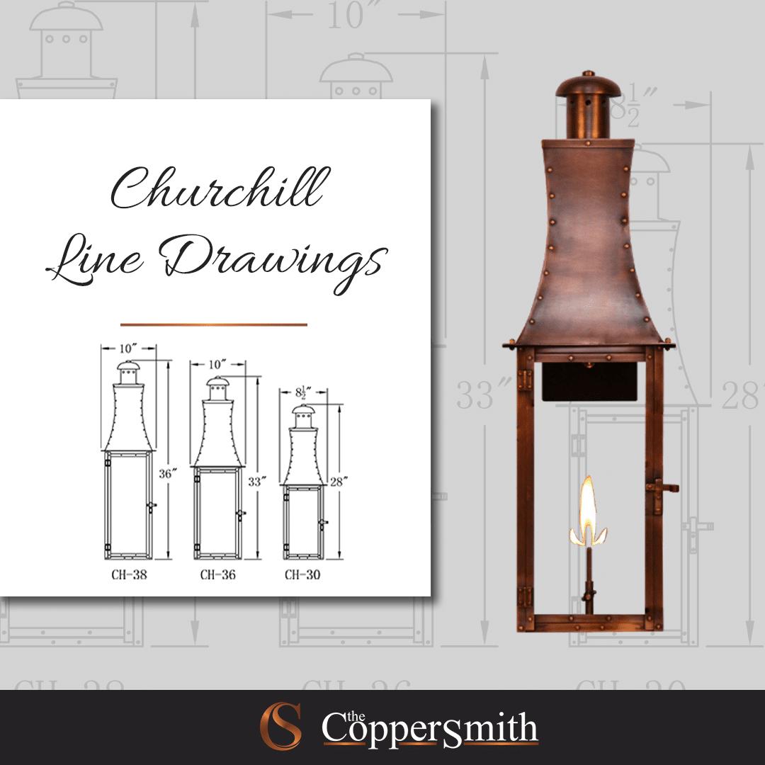 Churchill Line Drawings