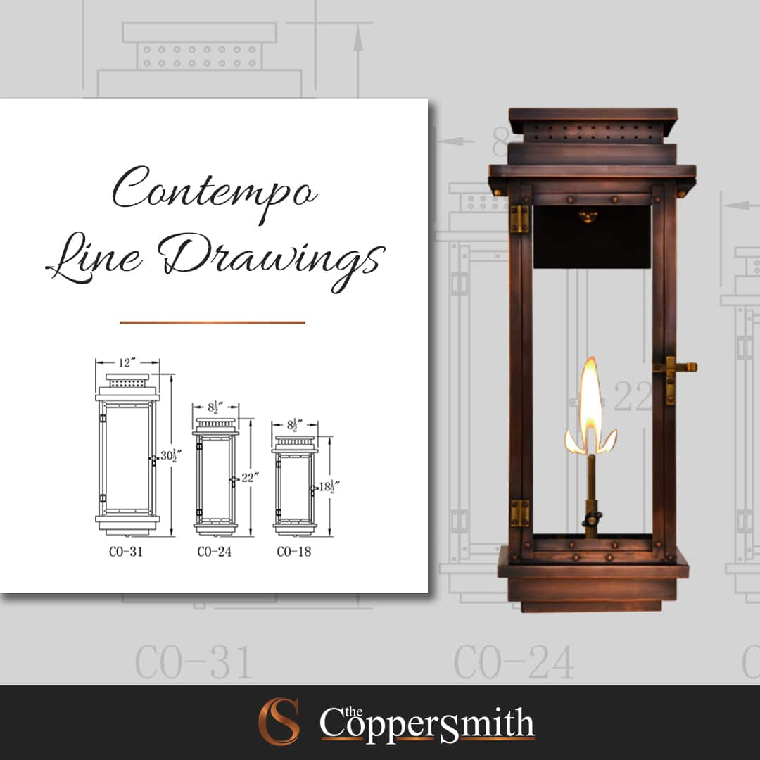 Contempo Line Drawing