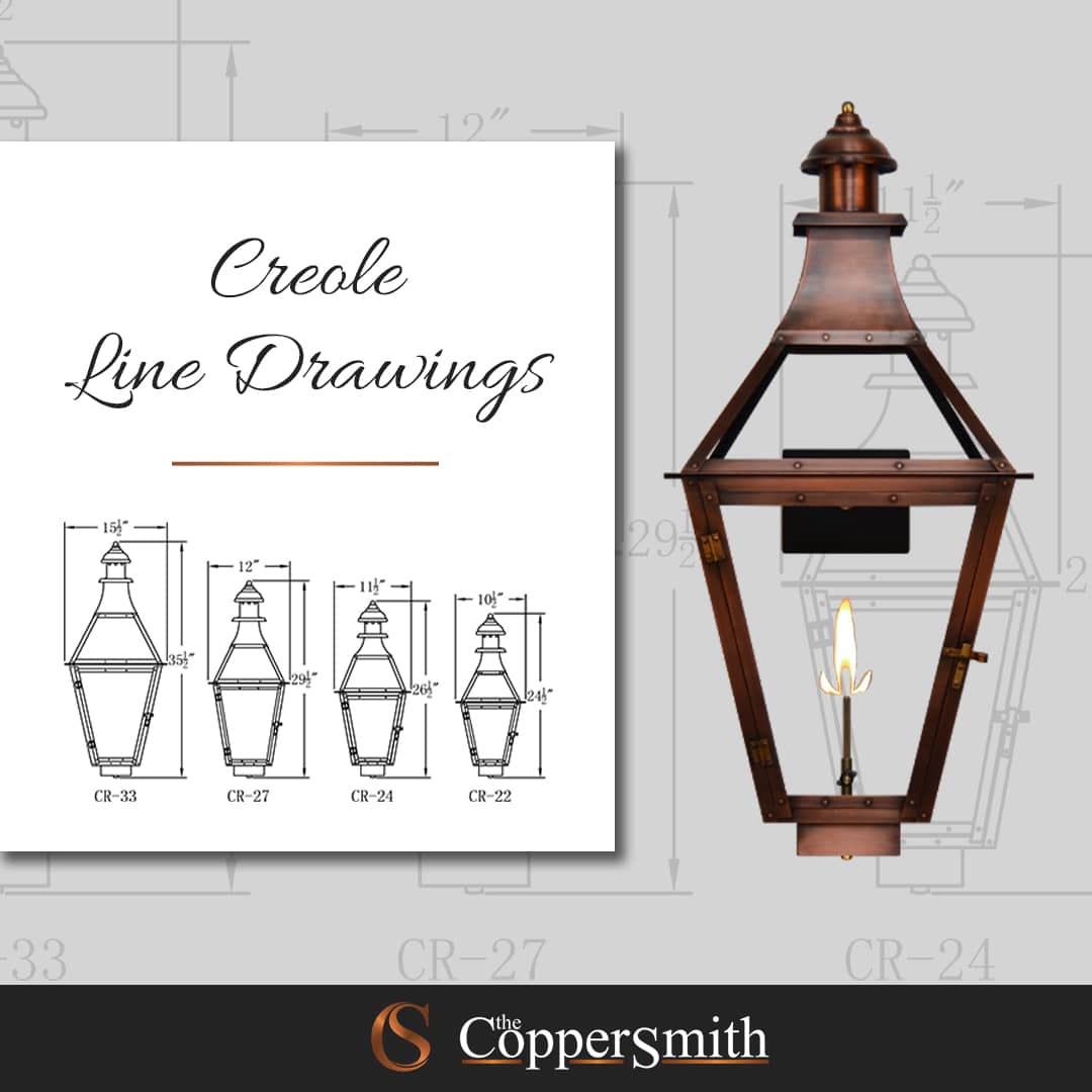 Creole Line Drawings