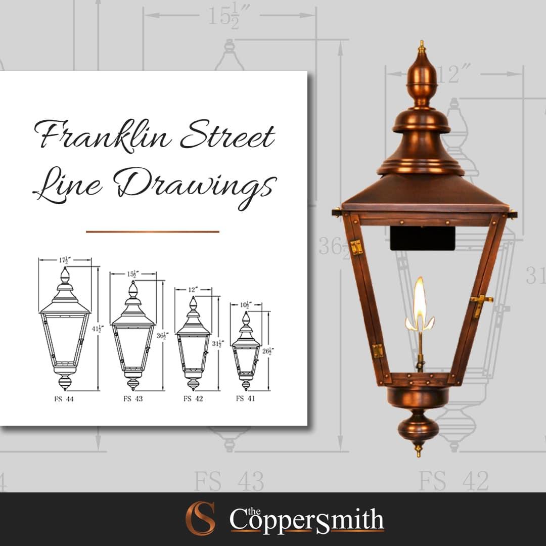 Franklin Street Line Drawings