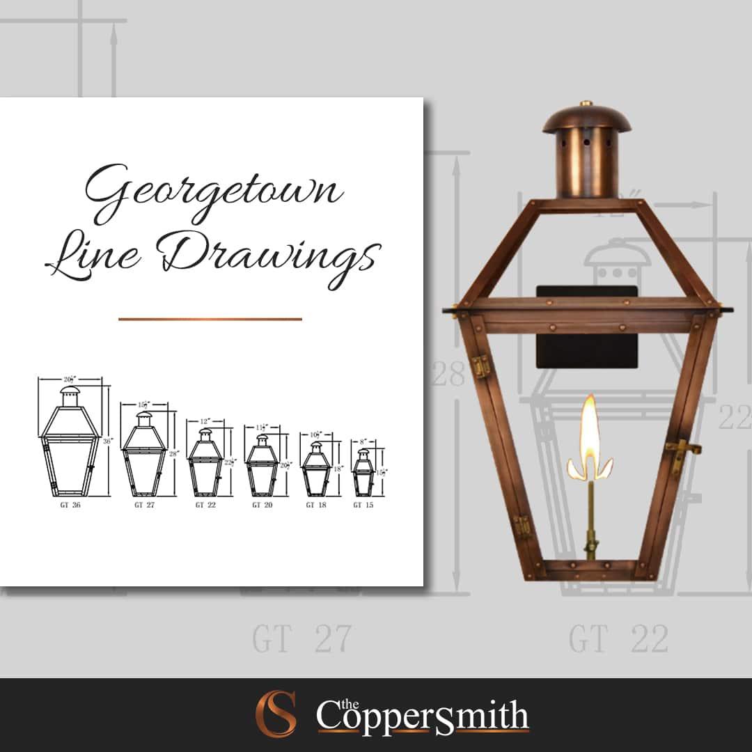 Georgetown Line Drawings