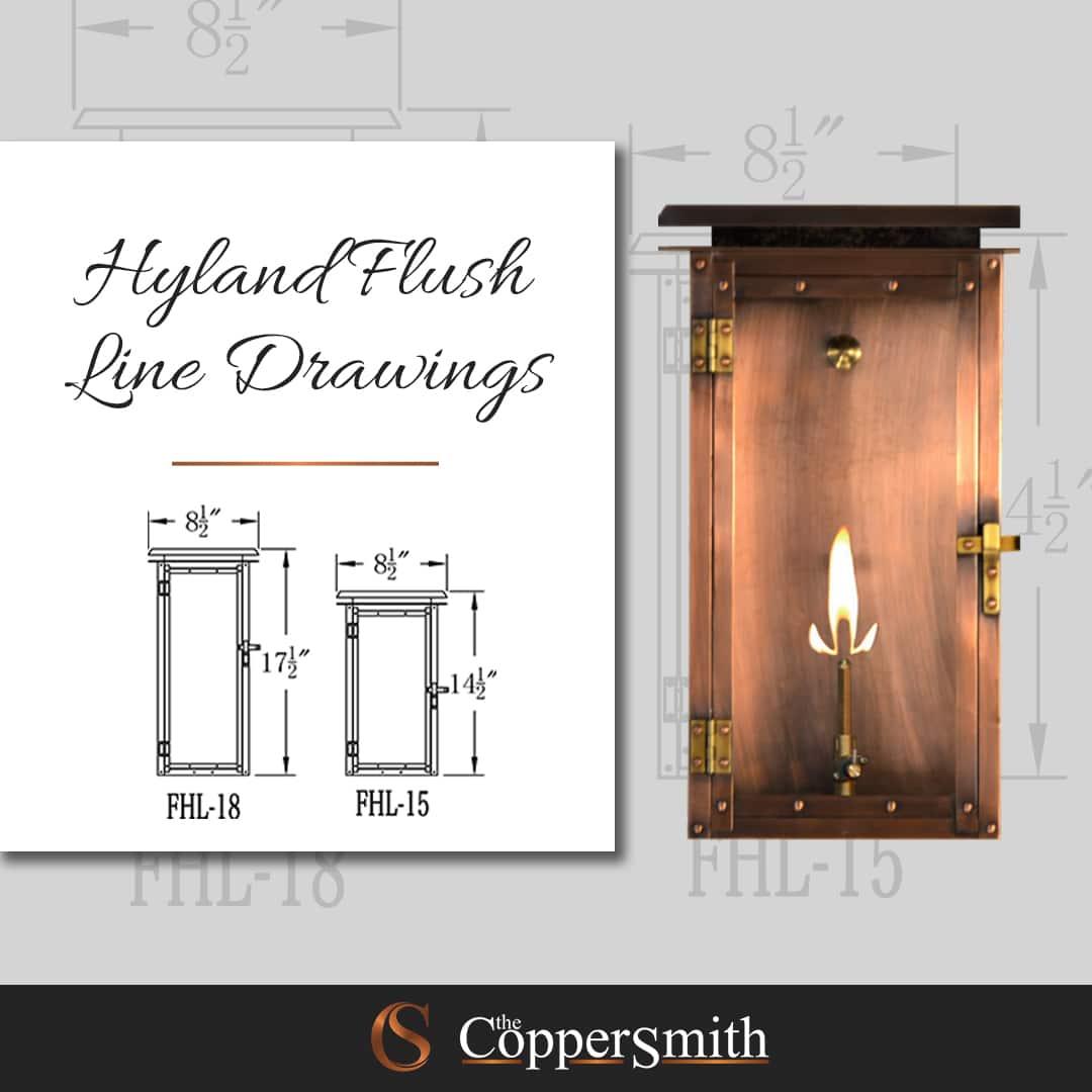 Hyland Flush Line Drawings