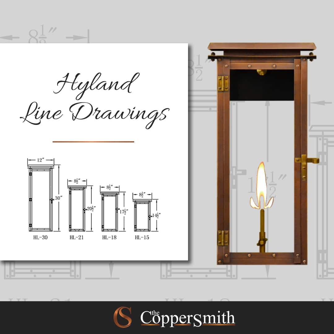Hyland Line Drawings