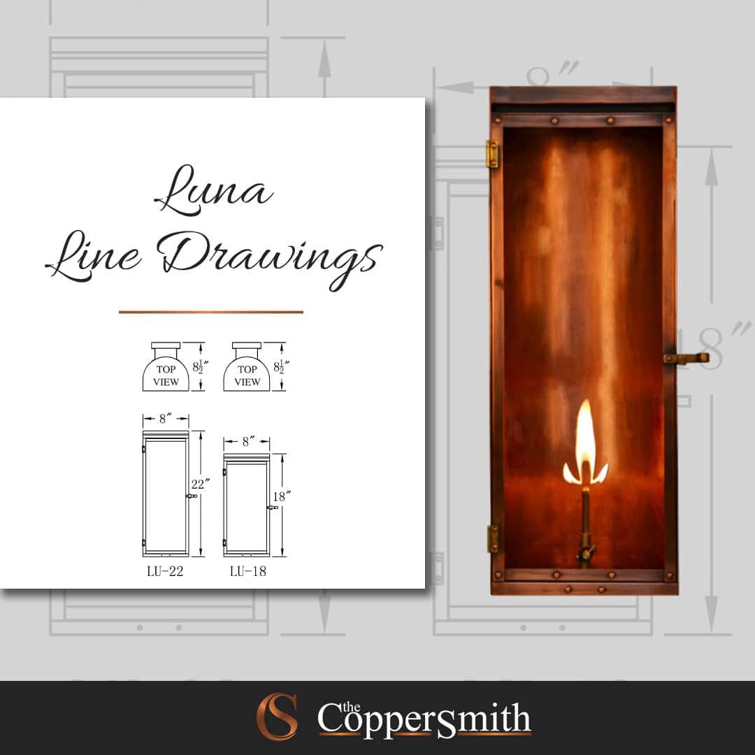 Luna Line Drawings