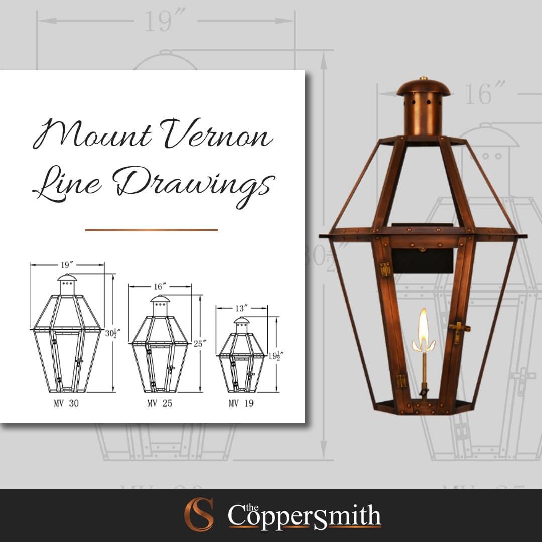 Mount Vernon Line Drawing