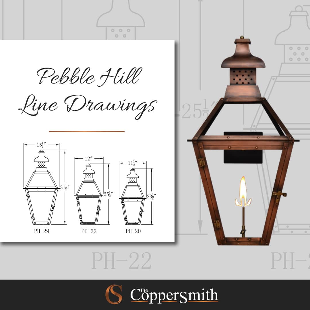 Pebble Hill Line Drawing