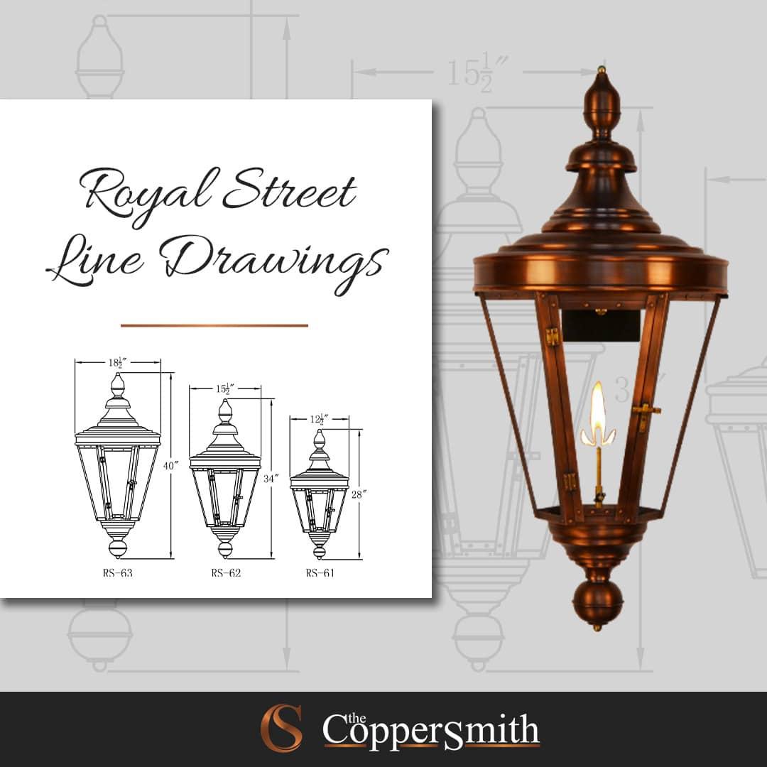 Royal Street Line Drawing