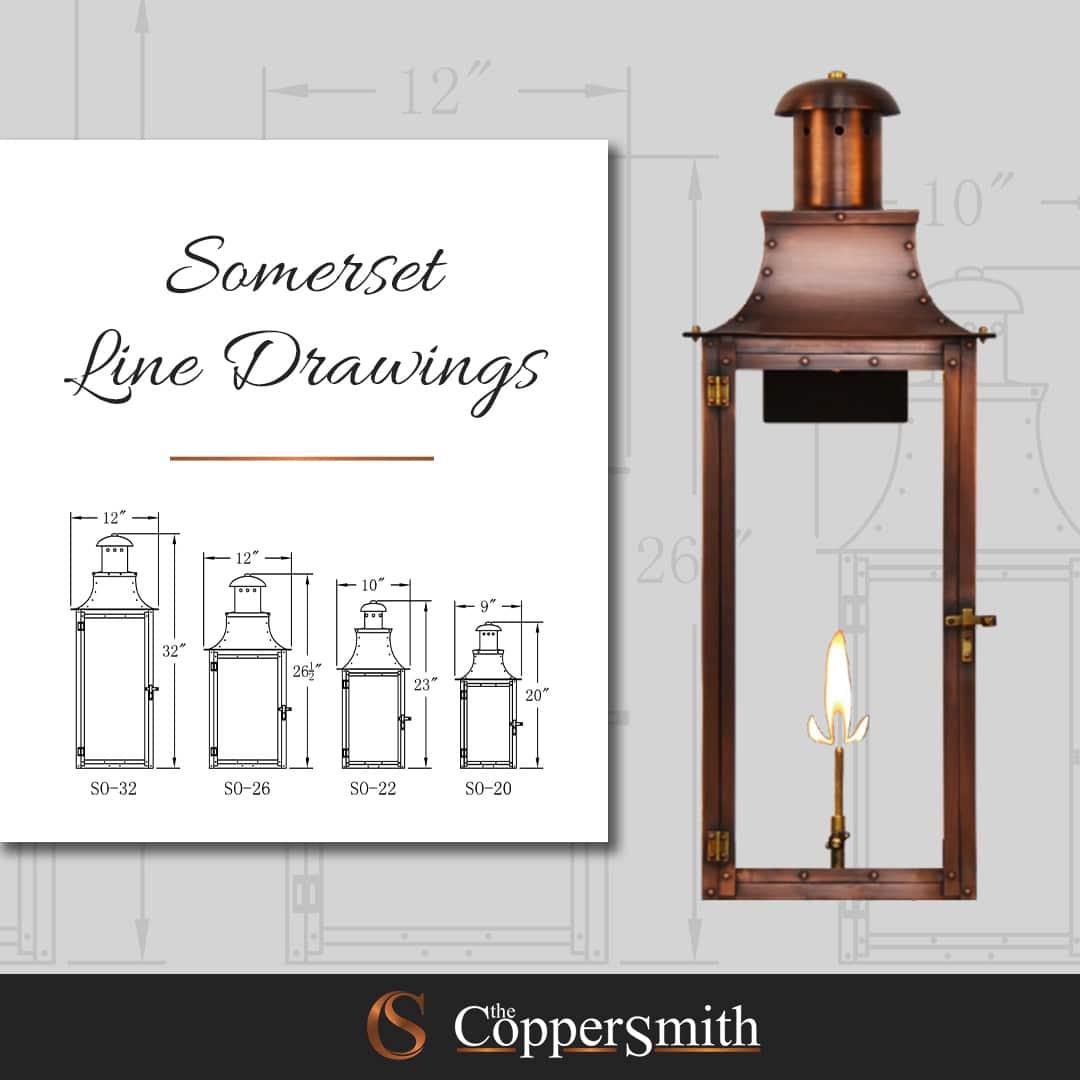 Somerset Line Drawing