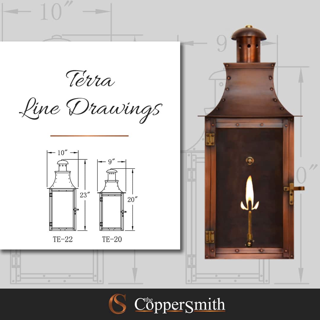 Terra Line Drawings