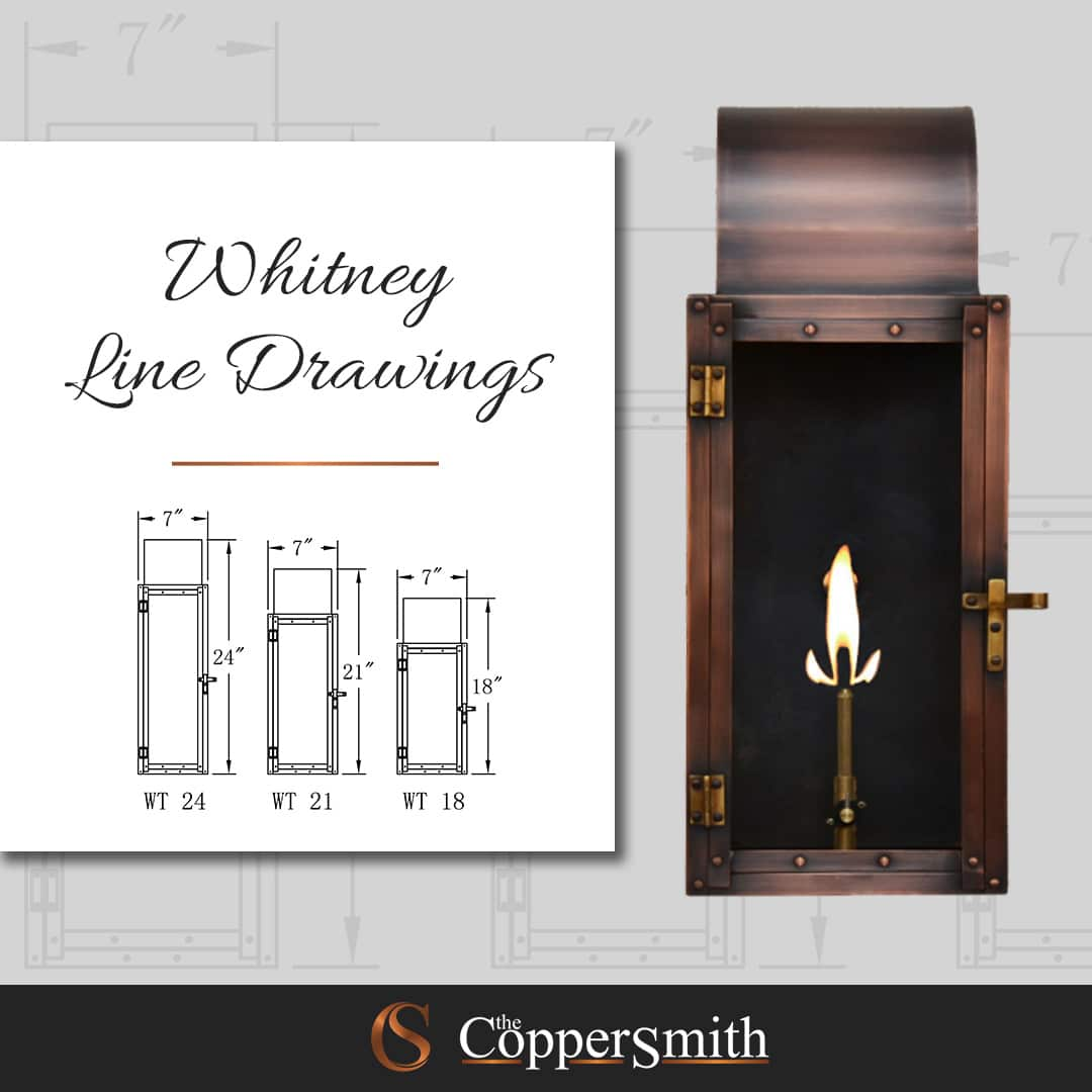 Whitney Line Drawings